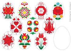 Letölthető ötletek | Piros Hungary Creative Crafts, Diy And Crafts, Crafts For Kids, Easter Crafts, Christmas Crafts, Eastern Eggs, Easter Activities For Kids, World Thinking Day, Easter Colouring