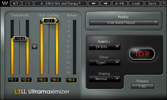 L3-LL Ultramaximizer Plugin   Waves. Another favorite of mine!