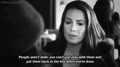 Pretty Little Liars Quotes Pll Quotes, Tv Show Quotes, Movie Quotes, Pll Memes, Pretty Little Liars Quotes, St Just, Holly Marie Combs, She Loves You, Abc Family