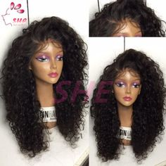 7A Glueless Full Lace Wigs Kinky Curly Lace Front Wigs Brazilian Virgin Hair Full Lace Human Hair Wigs For Black Women Online with $77.07/Piece on Sheladyhouse's Store | DHgate.com