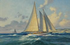 Grenadier Approaching The Coast, by Don Demers Available now!