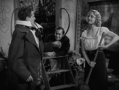 Wallace Ford, Leila Hyams, and Johnny Eck in Tod Browning's Freaks(1932).
