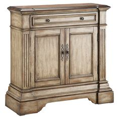 Found it at Wayfair - Estate Classics 1 Drawer Accent Cabinet in Ivoryhttp://www.wayfair.com/daily-sales/p/Accent-Furniture-Style-Guide-Estate-Classics-1-Drawer-Accent-Cabinet-in-Ivory~XXYY2683~E12896.html?refid=SBP.rBAZKFP-FvsPs1xMS7ZGAnf4SbrilEOpkx_It3SJGRs