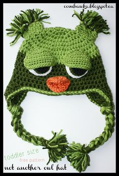The Original Not ANOTHER Owl Hat! Oombawka Design Crochet