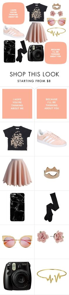 """""""My Trembling Hands On The Cellar Door (Just A Little More, Just A Little More, Little More)"""" by someonessecretsenpai ❤ liked on Polyvore featuring adidas, Chicwish, Kismet, Fendi, 1928, Fujifilm and Bling Jewelry"""