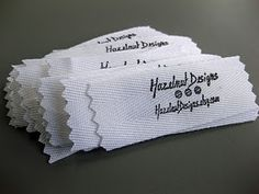 How To... Fabric Labels