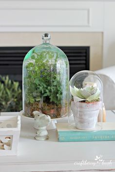 Craftberry Bush: Summer House Tour 2014: Whitewash any planters so that they match my home decor