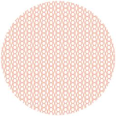 Lizzy House, Catnap, Jewel Coral  Quilt Fabric