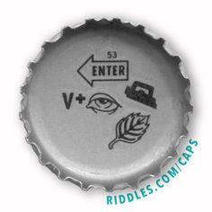 75330913242 Lucky Cap  53 series 1 - Riddles.com caps Rebus Puzzles