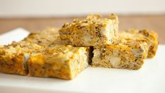 Cut small squares for appetizers or larger squares to serve with salad as a quick lunch. Sunday Recipes, Quick Dinner Recipes, Lunch Recipes, Fall Recipes, Dip Recipes, Epicure Recipes, Brunch Menu, Cooking On A Budget, Food Categories