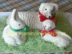 Rychlý smetanový beránek Lamb Cake, Easter Lamb, Easter Recipes, Easter Desserts, Pound Cake, Christmas Ornaments, Holiday Decor, Low Carb, Cookies
