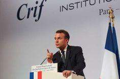 """Dîner du Crif: Macron veut lutter contre la cyberhaine - Devant un millier dinvités au Carrousel du Louvre à Paris dont une quinzaine de ministres et une vingtaine dambassadeurs le chef de lEtat a dit vouloir mener cette année au niveau européen un combat permettant de légiférer pour contraindre les opérateurs à retirer dan - http://ift.tt/2G2qlrK - \""""lemonde a la une\"""" ifttt le monde.fr - actualités  - March 07 2018 at 03:38PM"""
