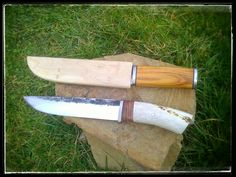 Two big knives WIP
