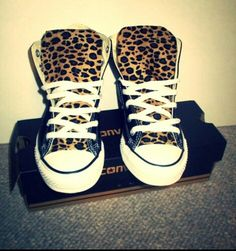 Leopard thong kids chucks .. 40.00