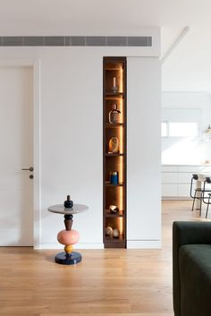 Modern Two Bedroom Apartment 3 Niche Design, Foyer Design, Shelf Design, Cabinet Design, Home Decor Bedroom, Living Room Decor, Bedroom Apartment, Home Office Design, House Design