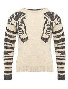 Zebra Sweater by M
