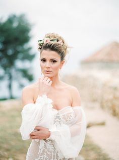 Gorgeous romantic styled shoot