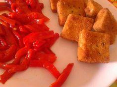 Tofu con Pimiento Rojo