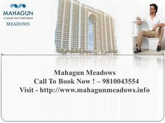 Mahagun Meadows is the newly launched residential projects at Noida sector 150 that is launched to fulfill the requirement of those customers who want have spacious and greenery homes with all the ultra luxurious facilities and amenities.