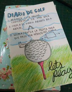 """Destroza este diario/ Wreck this journal """"Diario de golf"""""""