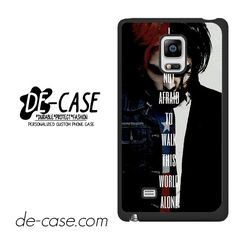 My Chemical Romance Lyrics DEAL-7537 Samsung Phonecase Cover For Samsung Galaxy Note Edge
