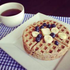 Almond Flour Sunbutter Waffles | fastPaleo Primal and Paleo Diet Recipes