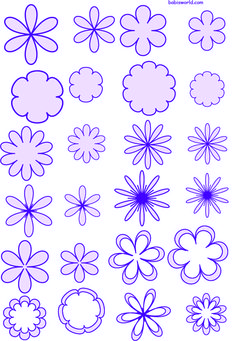 free flower molds 3 in pdf format Burlap Flowers, Giant Paper Flowers, Felt Flowers, Diy Flowers, Fabric Flowers, Felt Patterns, Applique Patterns, Flower Patterns, Leaf Template