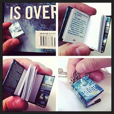 Mini Death Cure Book on Etsy, $10.00... And of course they show page 250... I really want one!