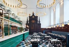 Michaelis Boyd has inserted a fresh version of Duddell's Cantonese restaurant into a historic church in Central London, intended as an extension of the double Michelin-starred Hong Kong original.
