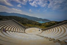 Odysseas Elytis Theatre, Ios, Greece, Ios, Greece — by Travel With Bender