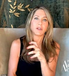 Jennifer Aniston and Lisa Kudrow reminisce about Friends   Daily Mail Online Jennifer Aniston Style, The Reunion, Lisa, Interview, Actors, Long Hair Styles, Mail Online, Friends, Daily Mail