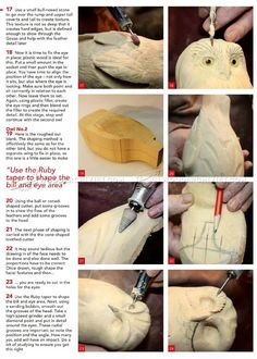 Carving Owl - Wood Carving Patterns - Wood Carving