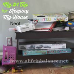 My #1 Tip for Keeping My House Neat with 5 kids