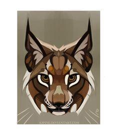 lynx lynx by Kipine.deviantart.com on @DeviantArt