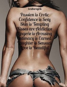 Passion Is Erotic ~ Confidence Is Sexy ~ Skin Is Tempting ~ Kisses Are Addictive ~ Lingerie Is Arousing ~ Intimacy Is Earned ~ Laughter Is Sensual ~ Love Is Beautiful Sexy Women, Sexiest Women, Dimples, Sexy Ass, Monokini, Sensual, South Beach, Color Splash, Female Bodies