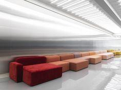 The Rope modular sofa designed by Hans Hornemann