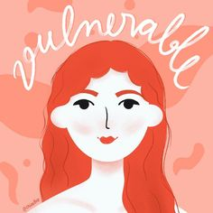 I nowadays often think about vulnerability. It's not a weakness, quite the opposite, actually. It's astonishing to see what opening up about your pain and struggle can do. Female Empowerment, Vulnerability, Digital Illustration, Girl Power, Confidence, Disney Characters, Fictional Characters, Environment, Wellness