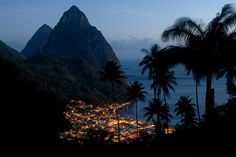 St. Lucia - during a trip in Grenadines islands - (Carribean cruise !)