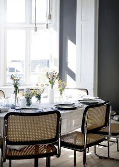 The home of stylist Nathalie Schwer via Happy Interior Blog #designcph