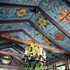 Just....awesome ceiling!