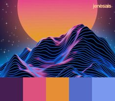 Synthwave Color Palette