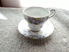 Check out this item in my Etsy shop https://www.etsy.com/listing/259495693/paragon-violetta-tea-cup-and-saucer-mint