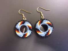 earring set native american by deancouchie on Etsy, $30.00