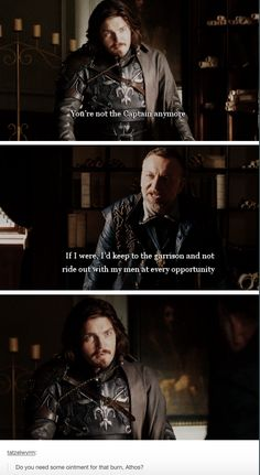 Treville and Athos | BBC Musketeers | Season 3