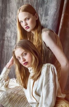 Emily and Lauren Middendorf,styled by Mitch Phillips,fashions by Rare Scarf Vintage,photo by Josue Photography in phoenix az
