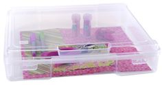 IRIS 6-Piece Portable Project and Scrapbook Case, 12 by 12-Inch, Clear IRIS USA, Inc. http://www.amazon.com/dp/B00GLQX3ZQ/ref=cm_sw_r_pi_dp_tBAcub0M0MR0P
