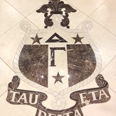 The crest in the DG house at The University of Alabama !! Roll tide and go Delta Gamma !!