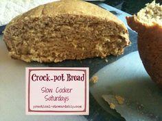 Crock-pot Sourdough Bread @ practical-stewardship.com