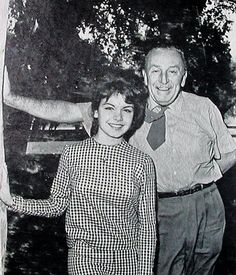 Annette and Mr. Walt Disney