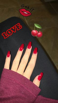 In look for some nail designs and some ideas for your nails? Here is our listing of must-try coffin acrylic nails for fashionable women. Coffin Nails Ombre, Aycrlic Nails, Cute Nails, Glitter Nails, Pink Coffin, Classy Nails, Red Gel Nails, Smart Nails, Gel Nails French